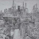 aus dem Hamburger Hafen