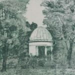 kleiner Brahmstempel im Hain Park