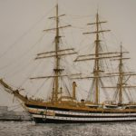 Segelschiff Amerigo Vespucci